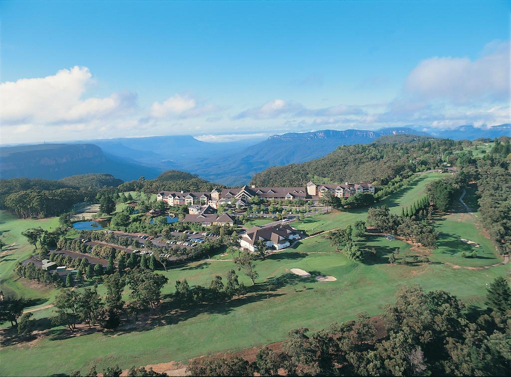 aerial view of Fairmont Resort Blue Mountains