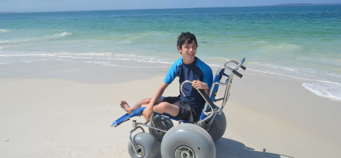 Wheelchair beach access