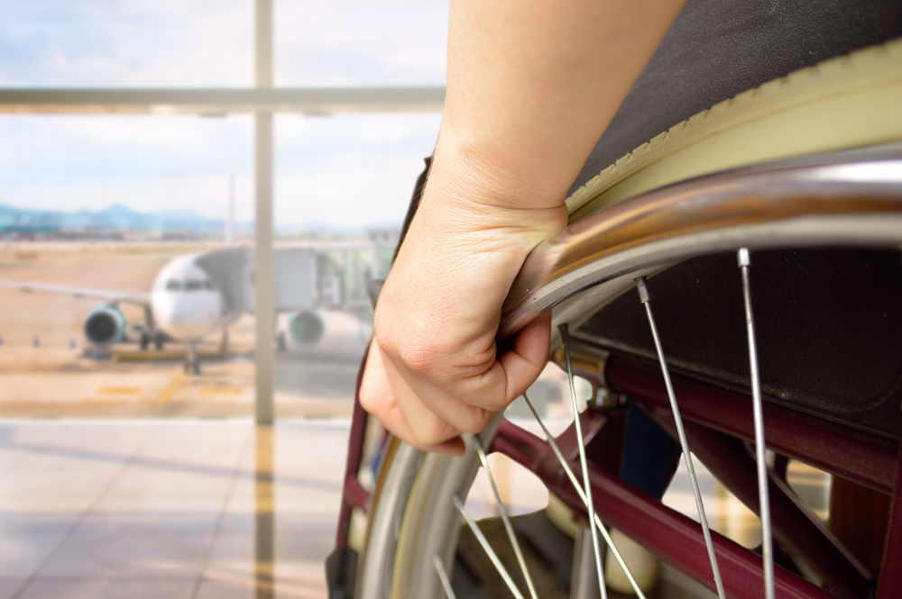 Wheelchair tips flights