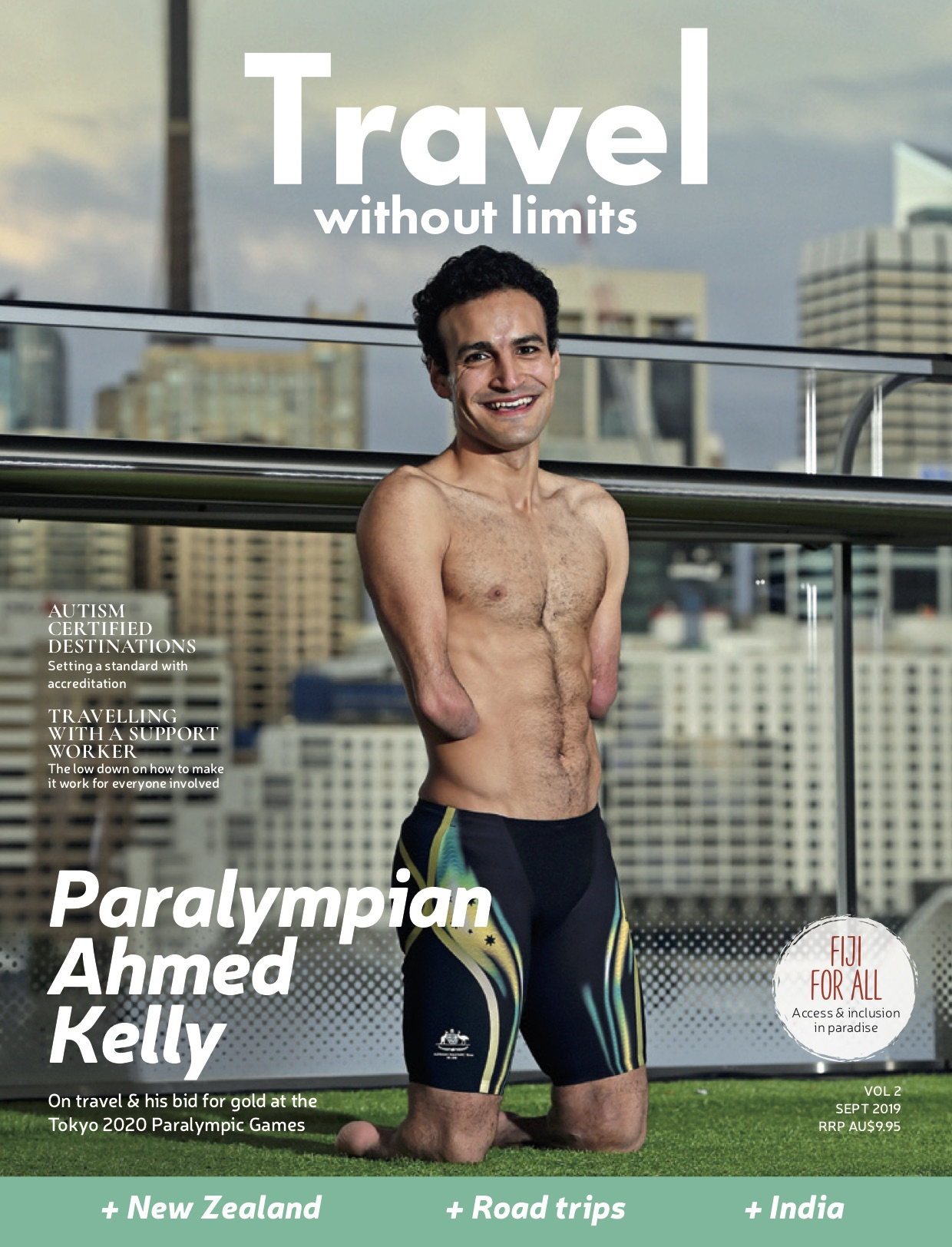 Travel Without Limits #2 magazine cover