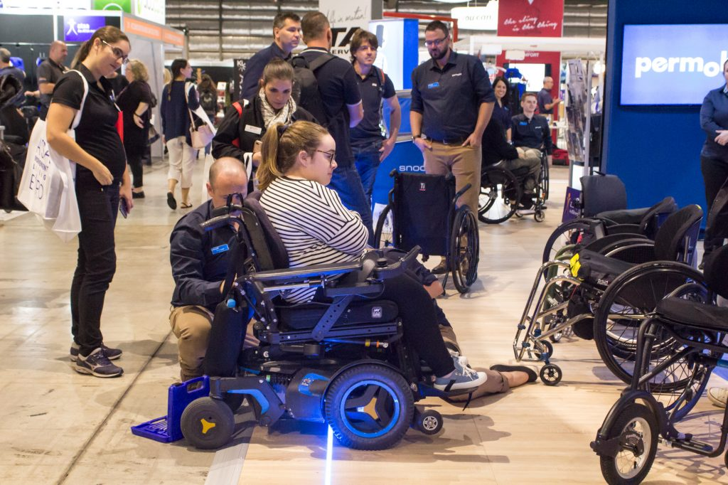 wheelchair repairs at ATSA expo