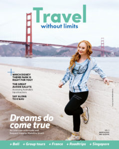 Travel Without Limits magazine #3 cover